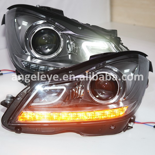 2012 2014 Year for Mercedes Benz W204 LED Head Light SY