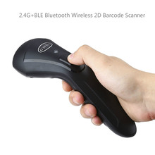CILICO CT80 Handheld 2D Barcode Scanner 2.4G+BLE Bluetooth Wireless Bar code Screen Scanning USB Reader for Android/IOS/Windows