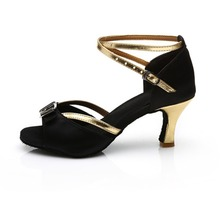 Free Shipping Black Blue Latin Dance Shoes For Women Ballroom Tango Zapatos Salsa Mujer Zapatos De Baile Latino Mujer 220