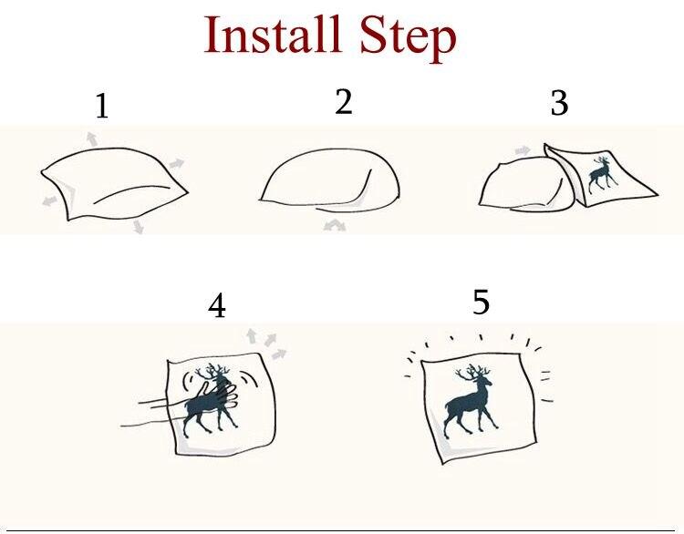 install step