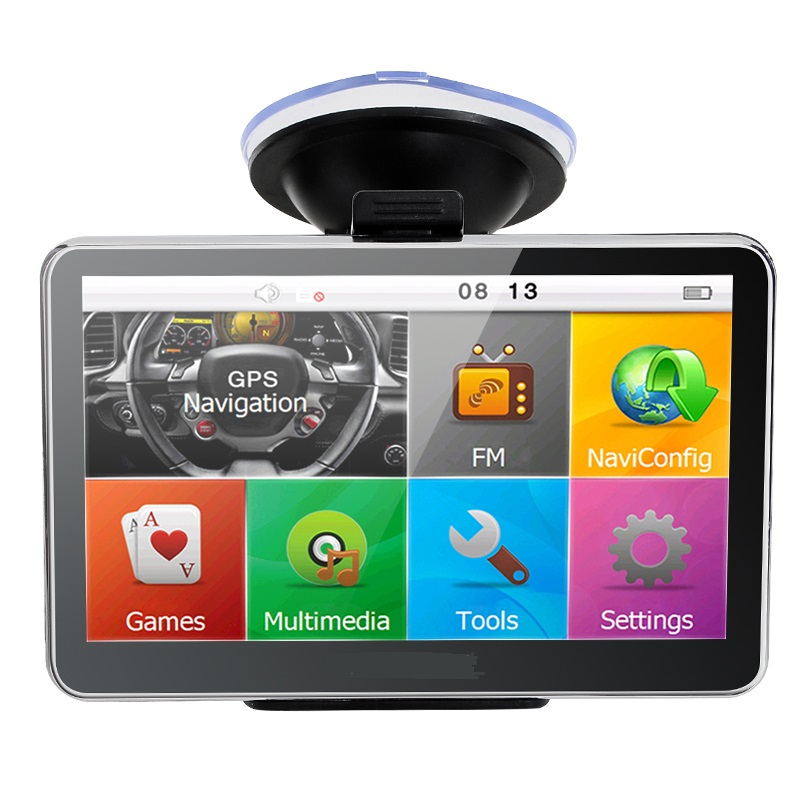5 Inch Auto Car GPS Navigation Sat Nav 4GB latest Maps WinCE 6 0 FM Bluetooth