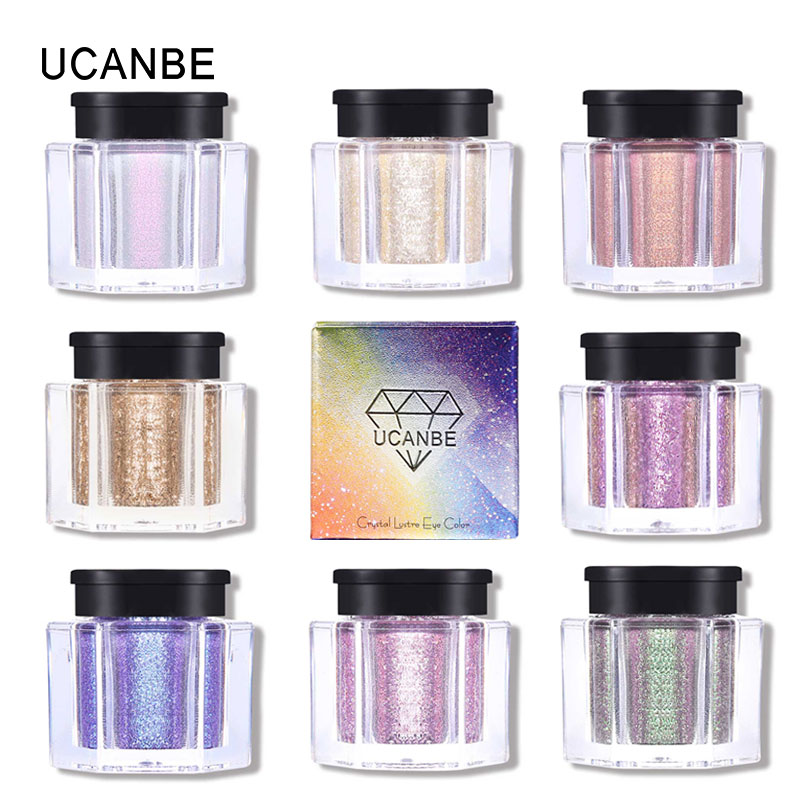 Beauty Essentials Beauty & Health Pudaier Holographic Glitter & Shimmer Mermaid 36 Colors Eye Shadow Highlighter Face Festival Glitters Body Makeup
