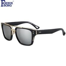 FOENIXSONG Nuevo Vintage Sunglasses Mujeres Moda Gafas gafas de sol de la Señora Retro Gafas de Sol Gafas Feminino Flat Top Anteojos