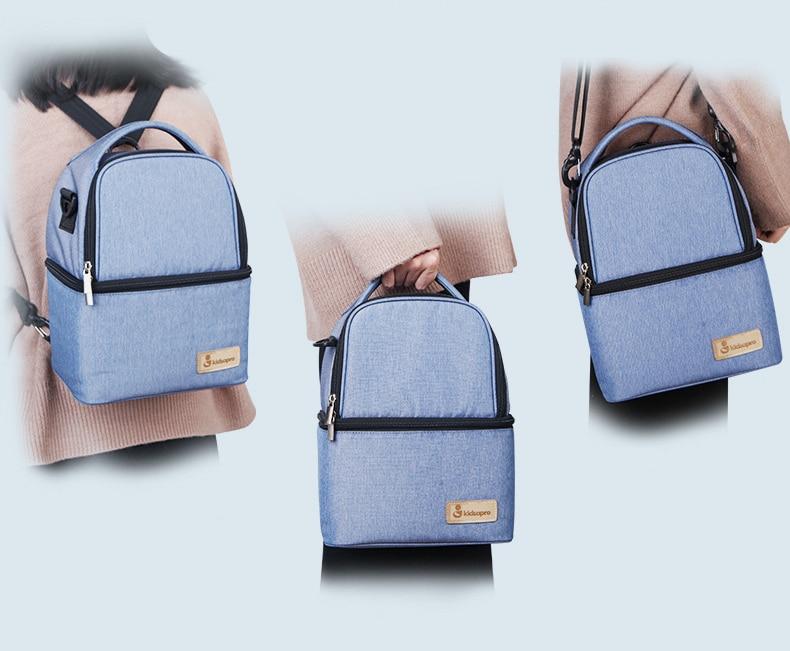 Mummy Maternity Diaper Bag Large Nursing Bag Travel Backpack Breastmilk Cooler Bag Baby Bag Baby Care Nappy Backpack