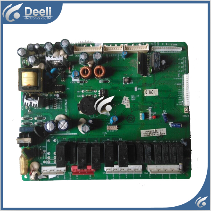 95% new Original  good working for Haier refrigerator module board frequency inverter board driver board BCD-550WA 0064000891A 95% new for haier refrigerator computer board circuit board 0064000230d bcd 228wbs bcd 228wbsv driver board good working