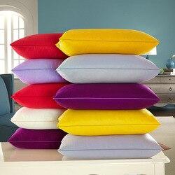Home Textile bedding - Neck Pillow 48*74cm throw pillow 100% Polyester fiber good Elasticity colorful Anti-snore pillow inner