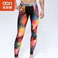 Новая Мода priting Мужские сжатия брюки jogger колготки согреться длинные брюки упражнение фитнес леггинсы брюки