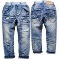6091 crianças calças de brim menino denim calça casual calças meninas spring & roupas de outono das crianças muito agradável moda