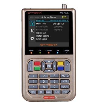 10pcs GTmedia  Finder DVB-S2 Satellite Meter Satellite Finde Support 1080P HD Better satlink ws-6950 6906 freesat  finder