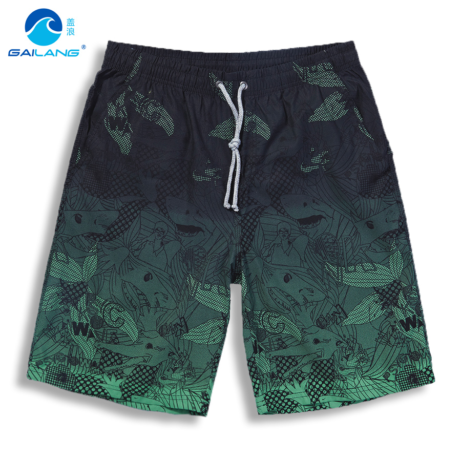 S-3XL   shorts   Men Bermuda masculina Quick dry surf swimwear   board     shorts   BoardShorts plus size swimming trunks male   shorts   Men