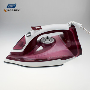 Image 2 - Household Steam Iron for Clothes 220v Ceramic  Selfcleaning Steamer Iron Clothing Burst of Steam Steam Controler Wire Ironing