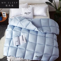 2.5kg quilt blanket duvet for winter/summer white cotton cover comforter King Queen Twin size fast free ship