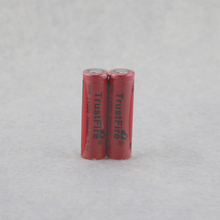8pcs/lot TrustFire IMR 14500 700mAh 3.7V Rechargeable Li-ion Battery Power Batteries Output 5A For E-cigarette Torch Flat Top