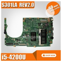 Q301LP Q301L S301L S301LP S301LA for ASUS motherboard S301LA REV2.2 Mainboard i7 CPU 100% tested
