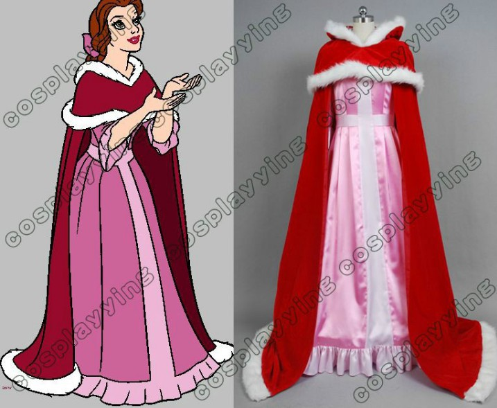 New Arrival Beauty And The Beast Belle Cosplay Costume