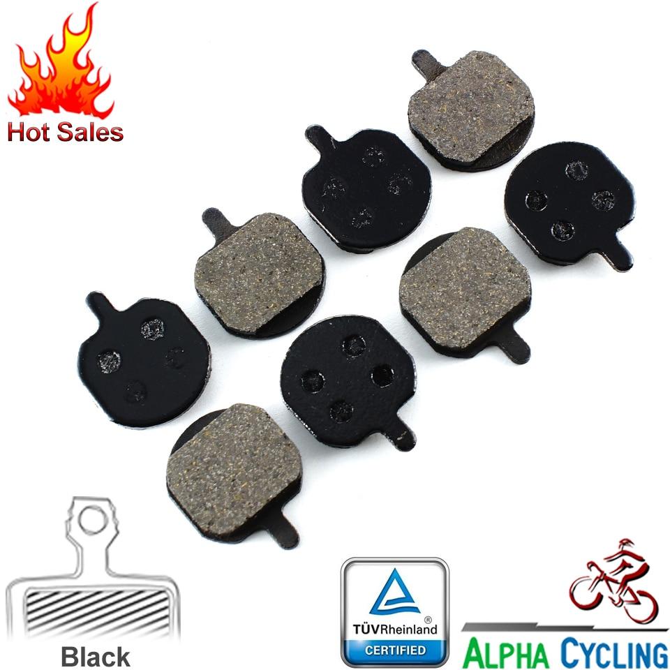 Велосипедные дисковые Тормозные колодки для Hayes SOLE, GX-C, MX2 MX3 MX4, 4 пары, смола черный