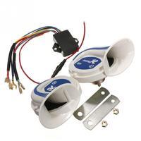 Loud Horn Auto Speaker Alarm Tone Vehicle Boat Car Motor Motorcycle Van Truck Siren Toning Air