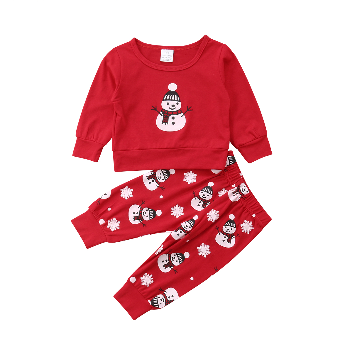 newest Christmas 2pcs Newborn Infant Baby Boy Girl clothes ...