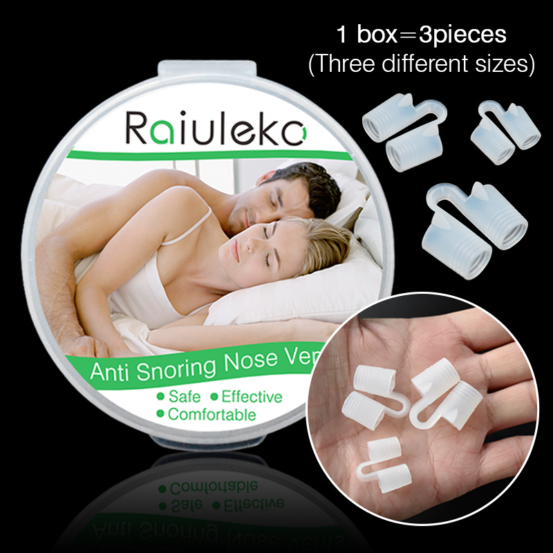 Soft silicone Anti Snoring Solution Device Snore Stopper Mouthpiece Tray Stopper Sleep Apnea Nasal Dilator Clamp Health Care
