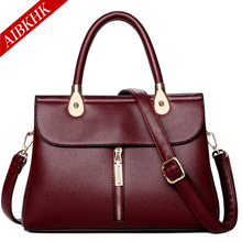 Genuine Leather Bag for Women 2019 Leather Handbags Luxury Handbags Women Bags Designer Brand Sac a Main Ladies Hand Bags цены