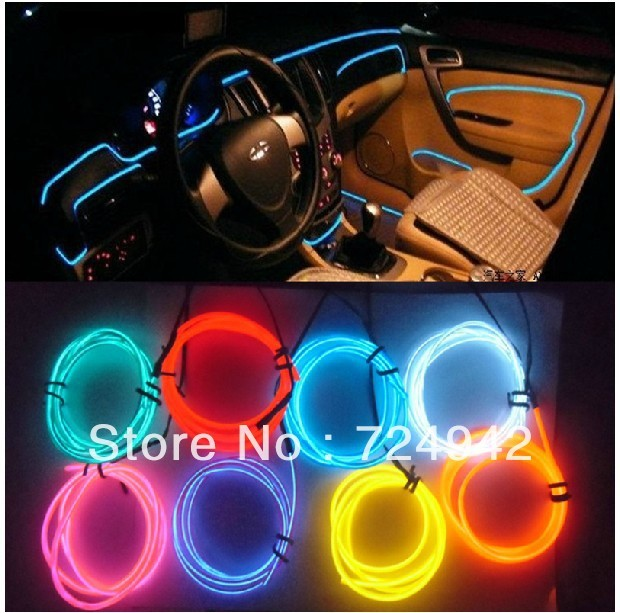 Led Light Strips For Car Interior Amazing Free Shipping EL Decorative Strip Light Car Interior Lights Ambient