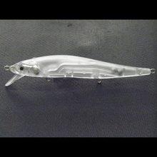 Wlure 14g 110 modelo twitch lure com 2 grânulos running no sistema de transferência de peso pequena oscilação sem pintura pesca isca upm680