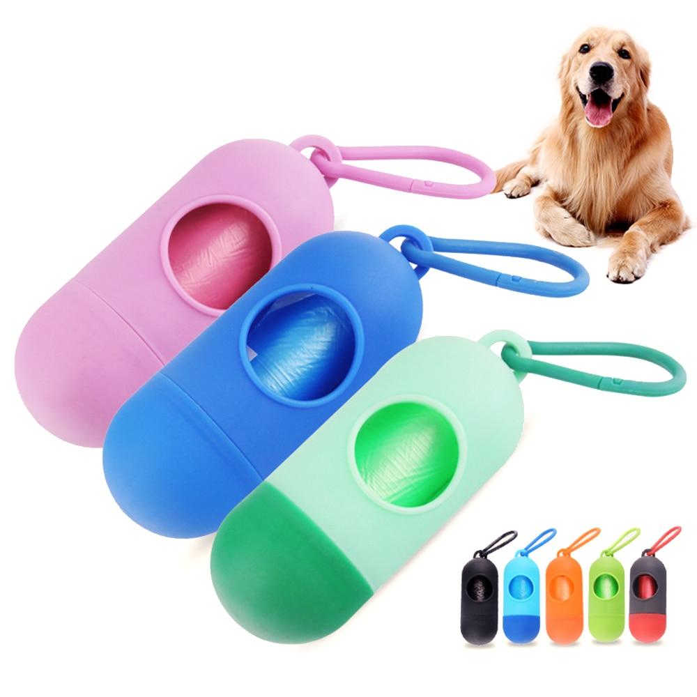 Pet Dog Poop Bags Pooper Bag Carrier Outdoor Dog Accessories Portable Poop Garbage Bags For Dogs Cat Pet Supplies Pooper Scooper (5)