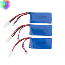Lipo batterie 7.4 v 2 s 1500 mAh batteries 2 ou 3 pcs pour Feilun FT009 2.4G RC Racing bateau Pièces De Rechange en gros