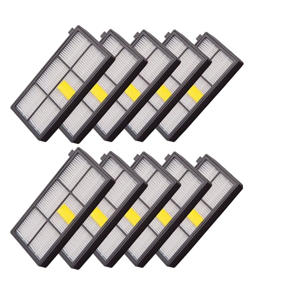 New 10PCS Hepa filter for iRobot Roomba 800 900 Series 870 880 980 Free Post ntnt free post new 3 pack hepa filter