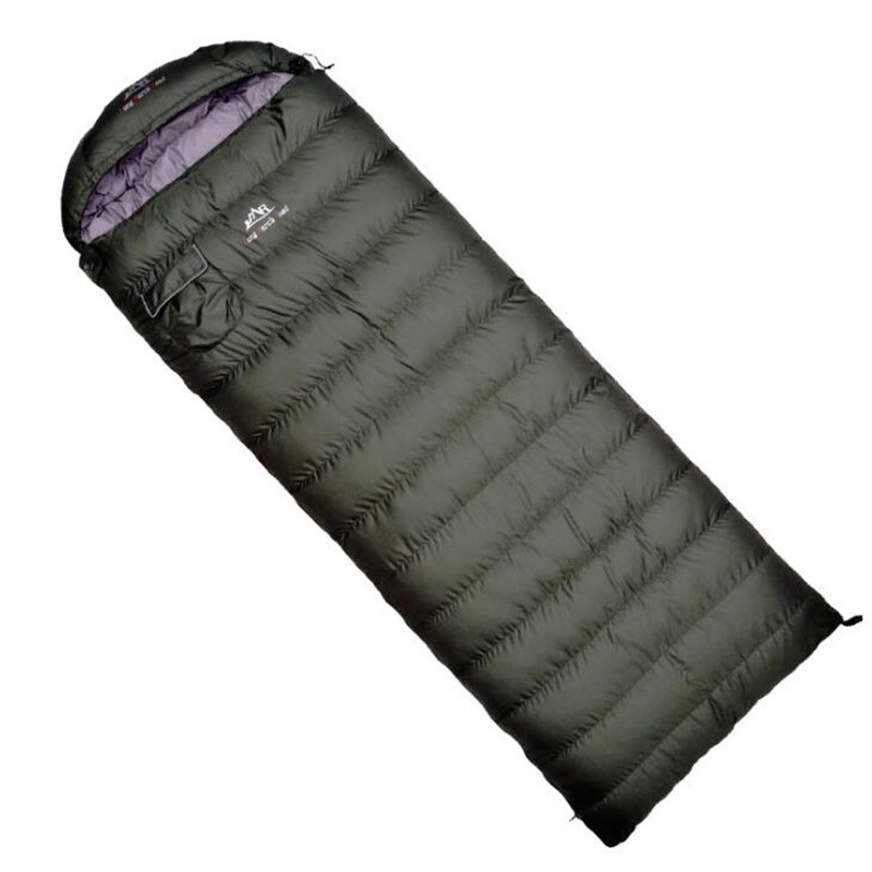 Ultralight Sleeping Bag Comfortable Goose Down Sleeping Bag Camping Multifunction Travel Bag White Duck Down Lazy