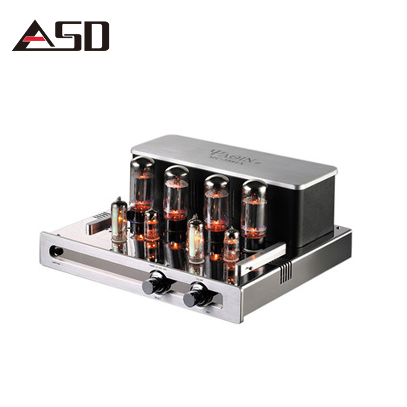 YAQIN MC-5881A Hifi Tube Amplificateur Audio Stéréo Tube À Vide Amplificateur Maison Tube Préampli Préamplificateur Tube Amp Audio