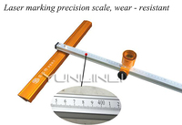 Glass push knife T type bold heavy cutter head thick glass high precision roller type drag knife cutting tile cutter head T XING
