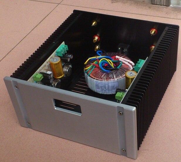 D-066 QUEENWAY 2412A CNC Full Aluminum Enclosure/mini AMP case/ box/chassis 240mm*120mm*257mm 240*120*257mm queenway audio 2215 cnc full aluminum amplifier case amp chassis box 221 5mm150mm 311mm 221 5 150 311mm