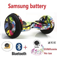 10 Electric self balancing scooter Samsung battery hoverboard sakeboard adult elecric scooter giroskuter hover board oxboard