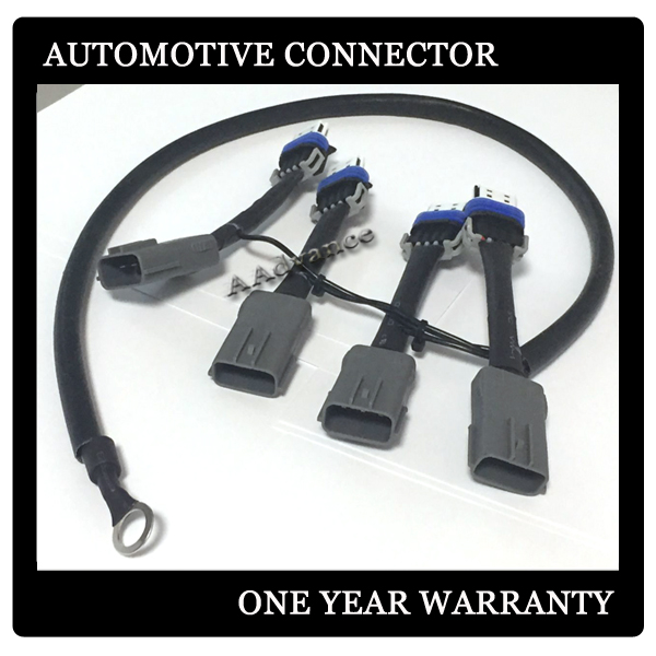us $610 8 g m c truck ls2 ls3 lq4 ignition coil packs to rx 8 rx8 upgrade wiring harness adapter in cables, adapters & sockets from automobiles &  rx 8 standard engine wire harness #11