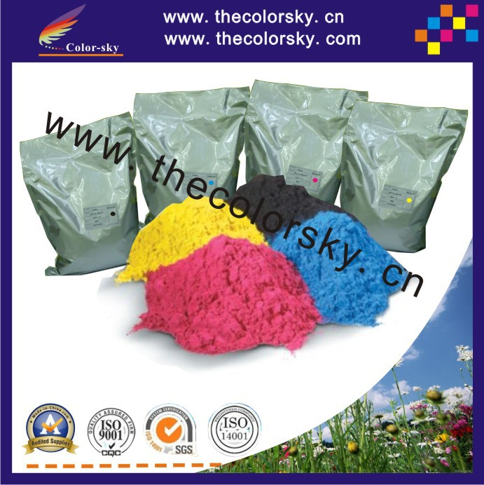 (TPH-1215-2C) laser toner powder for HP CB540A CB540 CB 540A 540 - 543 CC530A CC530 CC 530A 530 - 533 bk c m y 1kg/bag Freefedex powder for hp 1017mfp for canon isensys 5100 for hp lj cm1017 laser toner powder free shipping