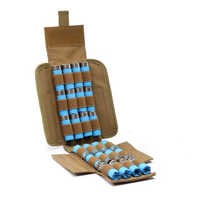 Охотничьи боеприпасы Сумки Молл 25 круглый 12GA 12 калибра боеприпасы, патроны для перезарядки ружья Подсумки j2