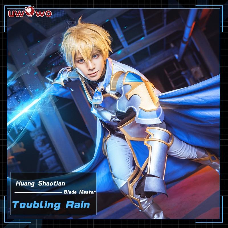 UWOWO Troubling Rain Cosplay The King s Avatar Costume Huang Shaotian Blade Master Quan Zhi Gao