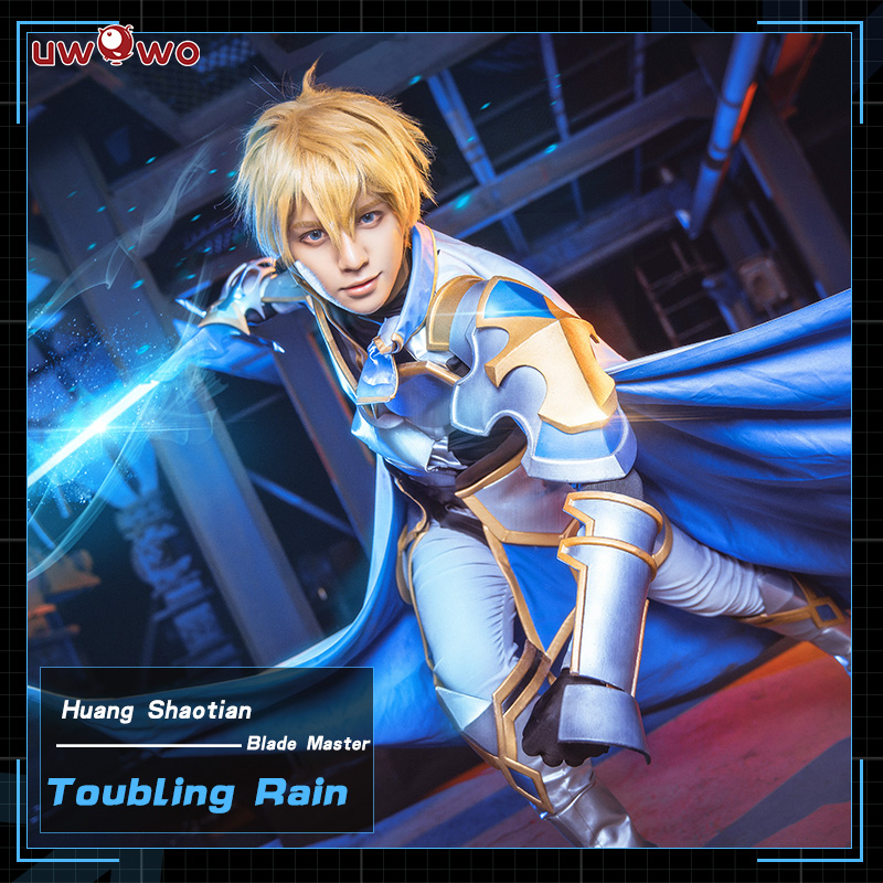 UWOWO Troubling Rain Cosplay The King's Avatar Costume Huang Shaotian Blade Master Quan Zhi Gao Shou Costume Men