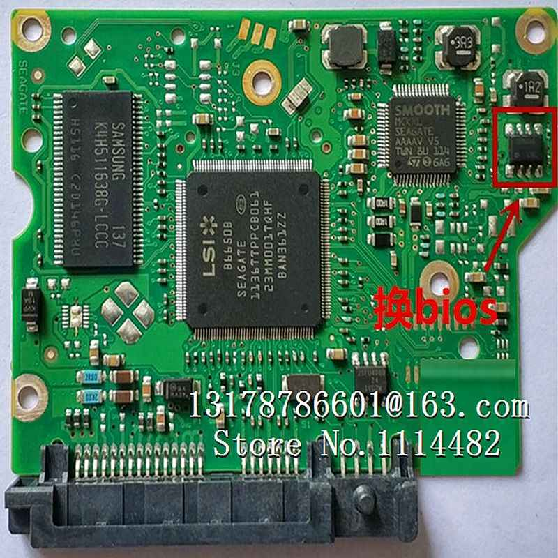 hard drive parts PCB printed circuit board 100535537 for