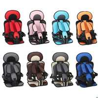 Dropshipping Travel Baby Safety car Seat Cushion Infant Belt Fabric Mat Portable Child Car Safe Seats For Boys Girls Baby Chair