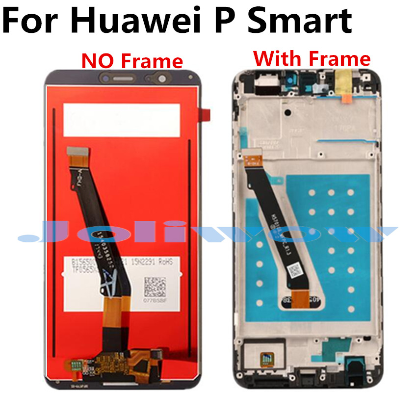 5 65 quot P Smart LCD For Huawei P Smart FIG LX1 L21 L22 LCD Display Touch Screen Digitizer Assembly in Mobile Phone LCD Screens from Cellphones amp Telecommunications