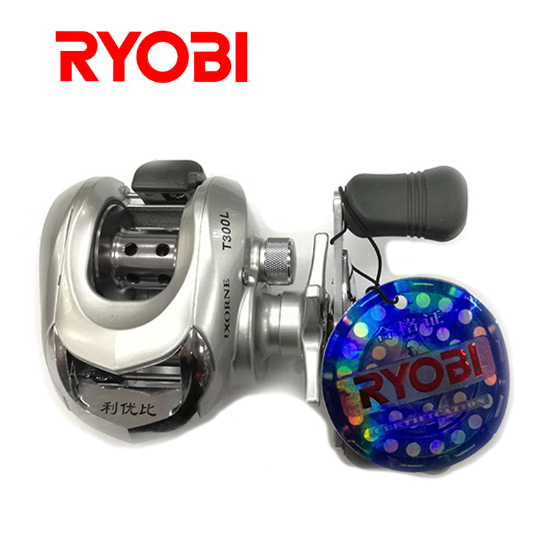 RYOBI IXORNE T300 100% Japan Brand full metal body casting reel Water Drop Wheel  Baitcasting Fishing Lure Reel 50 nunatak original 2017 baitcasting fishing reel t3 mx 1016sh 5 0kg 6 1bb 7 1 1 right hand casting fishing reels saltwater wheel