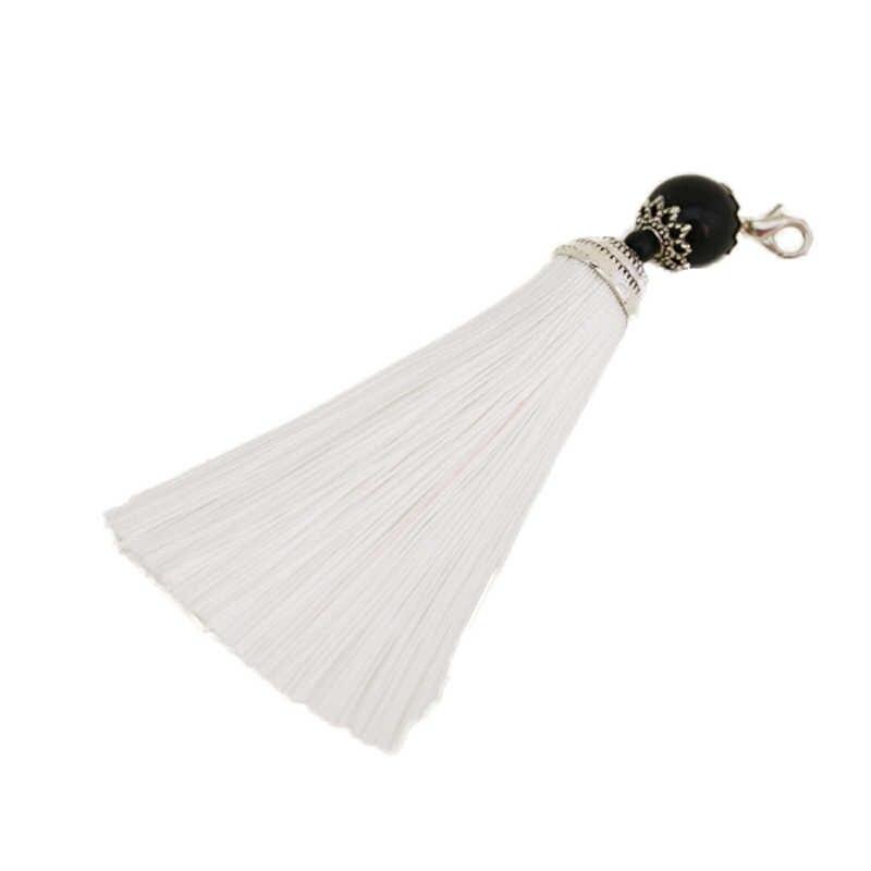 10 سنتيمتر الحرير مفتاح الشرابة/الاكسسوارات والمجوهرات/المجوهرات النتائج/الأقراط الاكسسوارات بالجملة