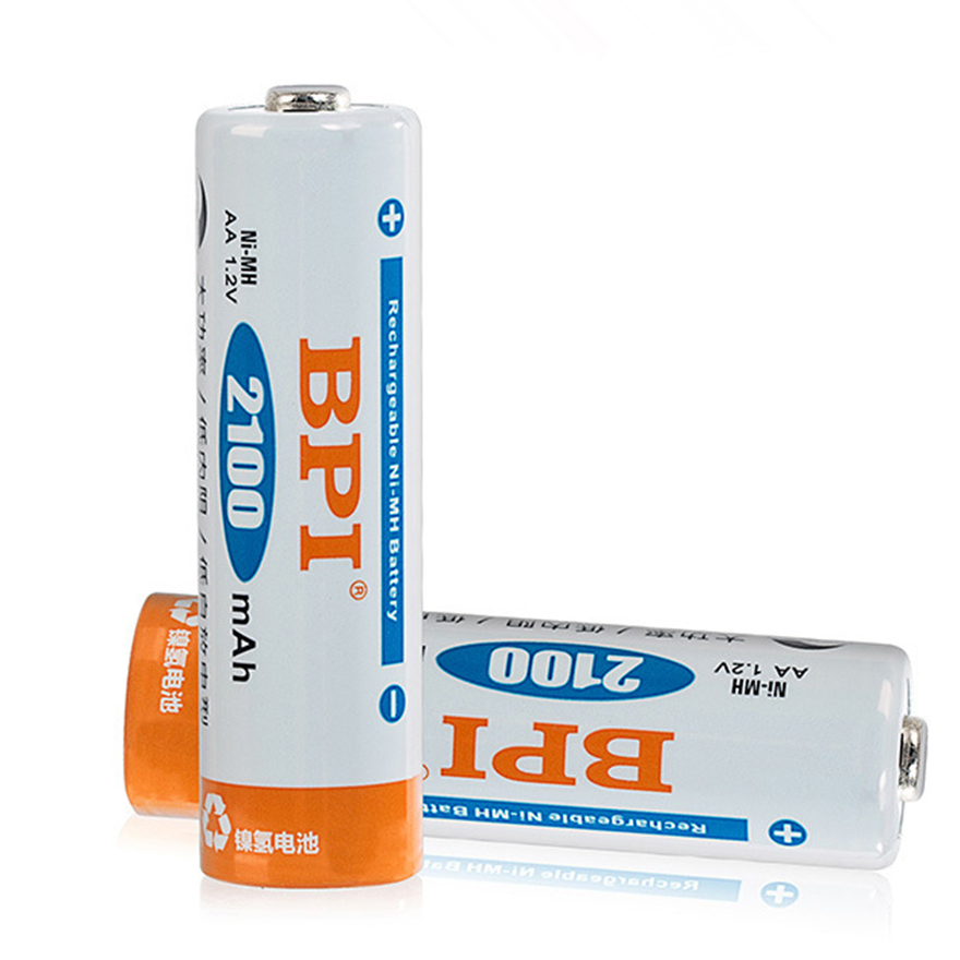 4pcs AA rechargeable battery 2100mAh Ni-MH rechargeable battery