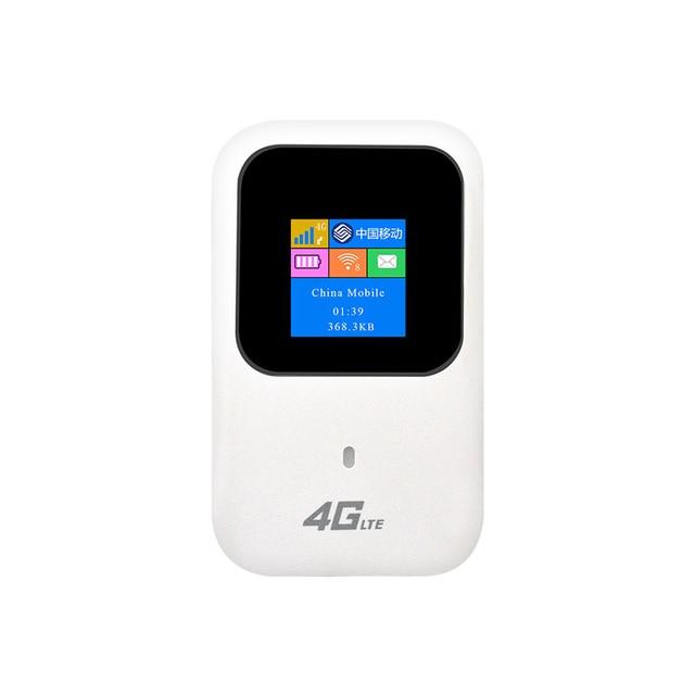 US $59 0  4G WIFI Router Car Mobile Hotspot Wireless Broadband Pocket Mifi  Unlock LTE Modem Wireless Wifi Extender Repeater travel partner-in Wireless