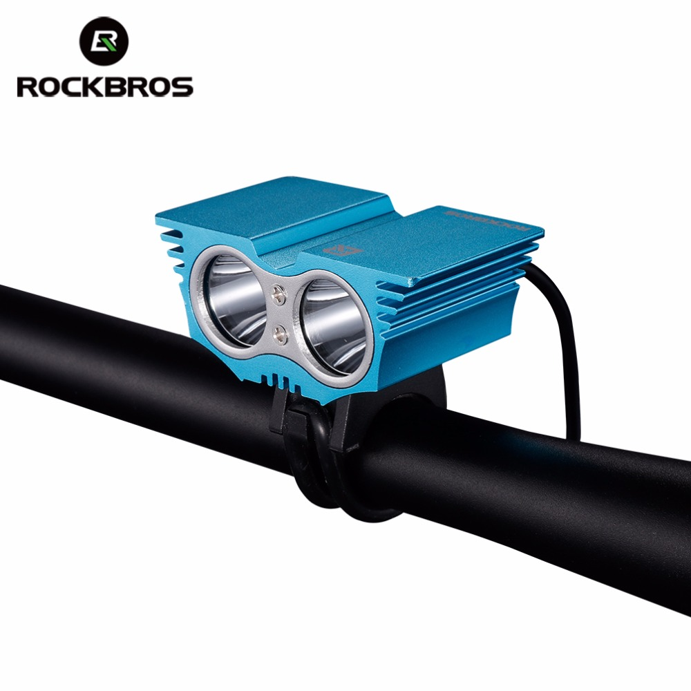 ROCKBROS bike light front bicycle led light USB rechargeable waterproof bright 2 LED flashlight handlebar cycling accessories rockbros titanium ti pedal spindle axle quick release for brompton folding bike bicycle bike parts