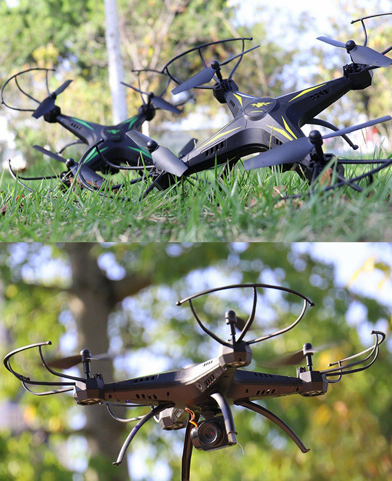Big Szie Rc Drones With Camera Selfie Drones Fpv Rc Quadcopter Flying Helicopters Remote Control Toys Drons