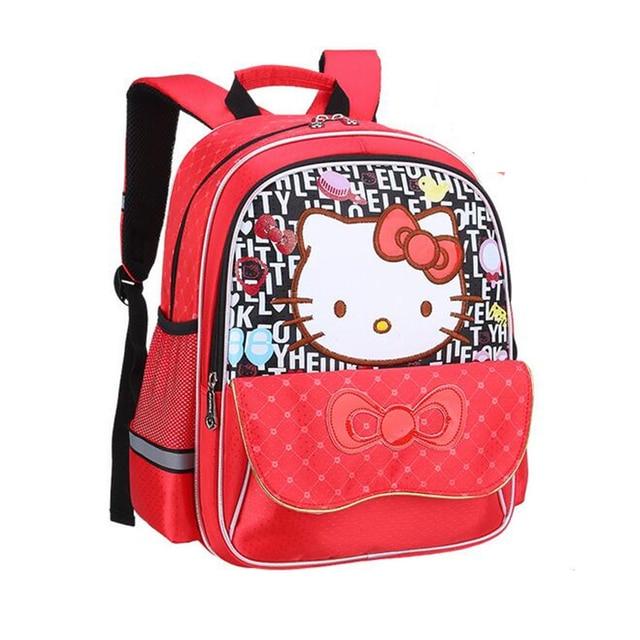 8b081a7218 POESECHR Kids Cartoon School Bags Children Backpacks Waterproof Nylon Girl  Orthopedic School Bag Printing Backpacks Book Bag