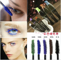 New Eye 3D Fiber Lashes Makeup Curling Mascara Fashion Cosmetic Waterproof Eyelash Extension Length Long Curling (4color choose)